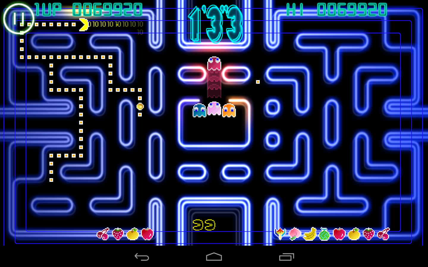 PAC-MAN Championship Ed. Demo- screenshot