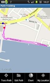 Path Tracking Screenshot 3