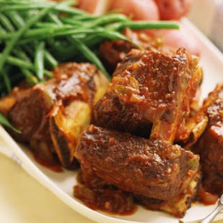Cathy's Crockpot Short Ribs with Tomatoes