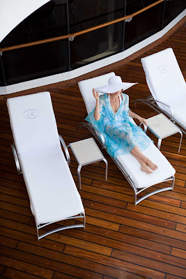Lounge on the deck in style during your Regent Seven Seas cruise.