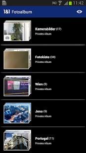 1&1 Fotoalbum - screenshot thumbnail