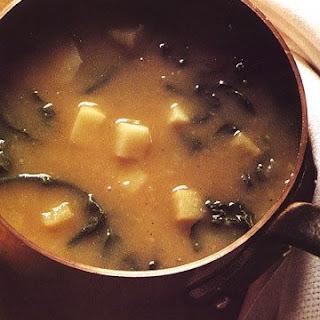 Potato and Greens Soup