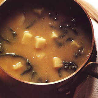 Potato and Greens Soup.