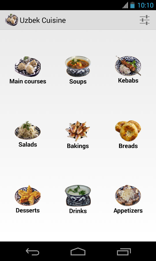 Uzbek cuisine android apps on google play for Simulation installation cuisine