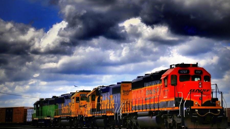 Across Missouri by John Hale - Transportation Trains ( , land, device, transportation )