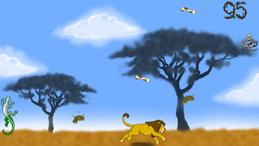 Lion, the king of wild savanna- screenshot