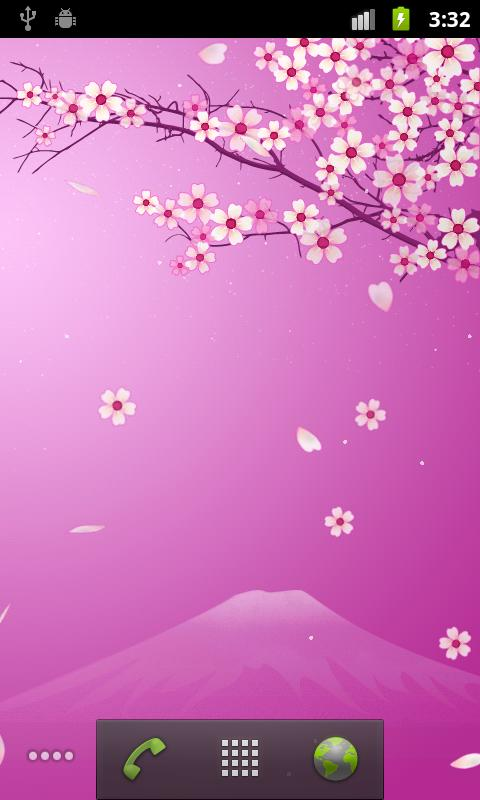 Sakura Pro Live Wallpaper- screenshot