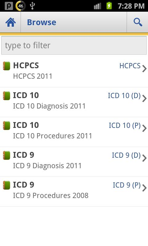 ICD Lite 2012 - screenshot