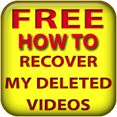 Recover my deleted videos