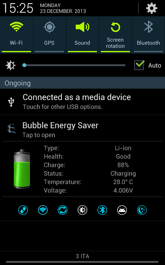 Bubble Energy Saver - screenshot