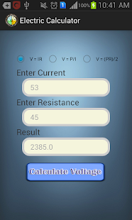 Electric Calculator- screenshot thumbnail