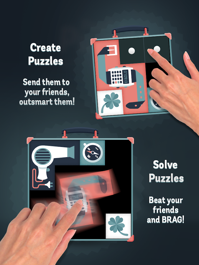 Pack a Puzzle - screenshot