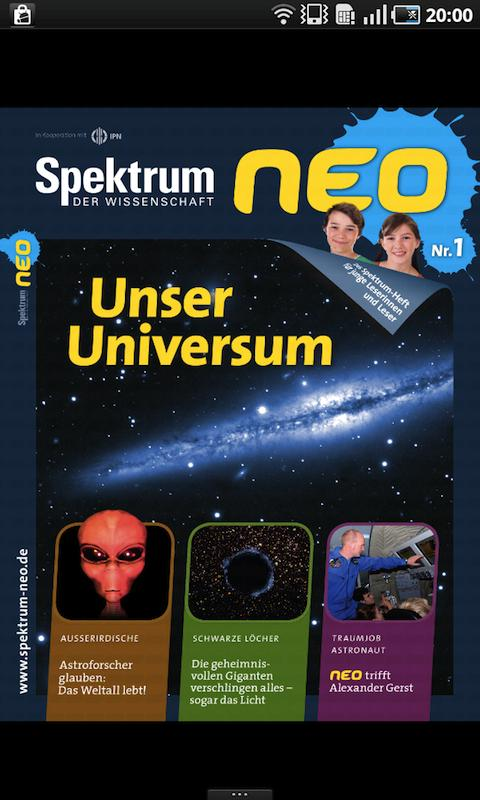 Spektrum der Wissenschaft neo- screenshot