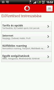 Mobil Vodafone - screenshot thumbnail