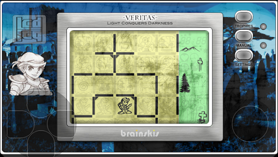 Veritas LCD- screenshot thumbnail