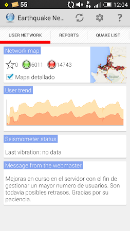 Earthquake Network 7.1.4 screenshot 642115