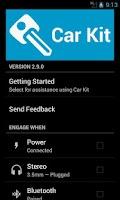 Screenshot of Car Kit