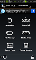 Screenshot of AIO Remote