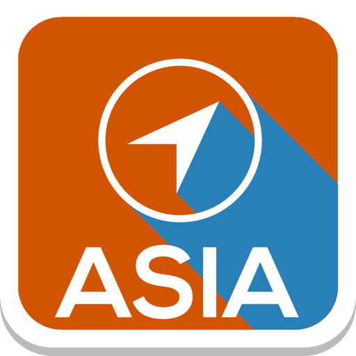Asia Offline Map Guide Cities file APK Free for PC, smart TV Download