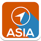 Asia Offline Map Guide Cities icon