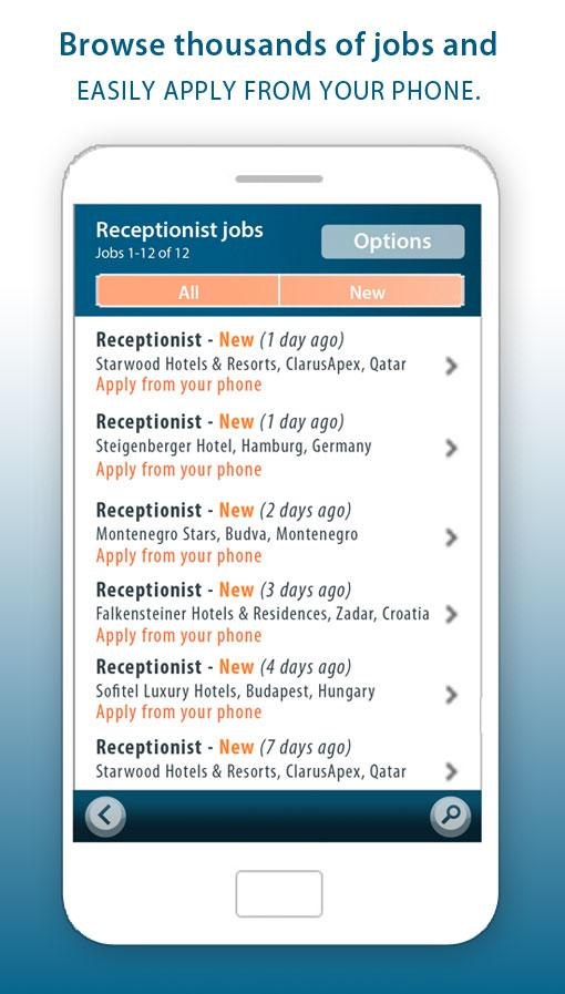 Jobs4Hotels- screenshot