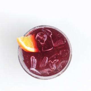 Sparkling Red-Wine Cocktails.