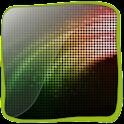 Pixel Neon Light 3D logo