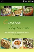 Screenshot of iCuisine Végétarienne