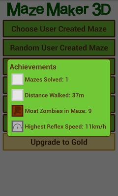 Maze Maker 3D - screenshot