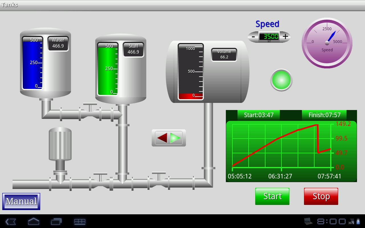 TeslaModbusSCADA- screenshot