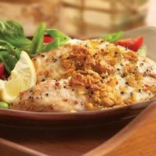 Crunchy Baked Fish.