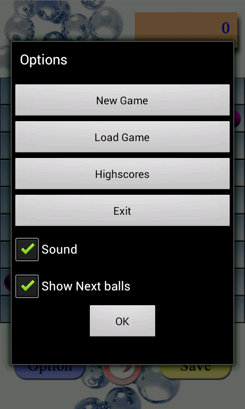 Lines Deluxe - Color Ball- screenshot