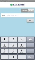 Screenshot of Mobile Token Bukopin