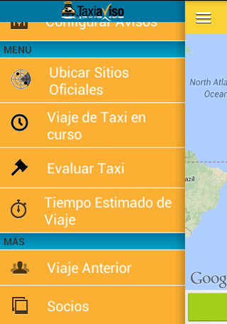 Taxiaviso - screenshot