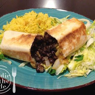 Grilled Black Bean Burritos