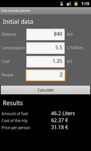 Car travel cost