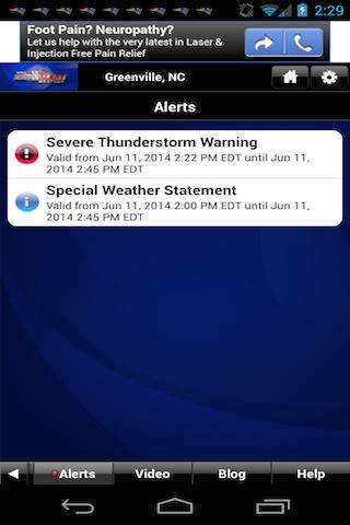 First Alert 9 - screenshot