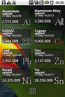 Metal Exchange Prices Pro - screenshot thumbnail