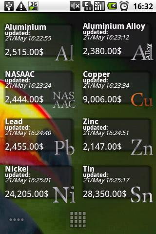 Metal Exchange Prices Pro - screenshot