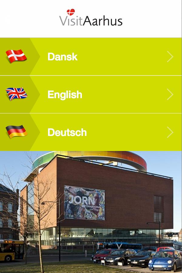 Visit Aarhus - screenshot