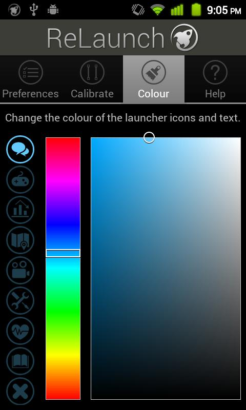 ReLaunch - Launcher - screenshot