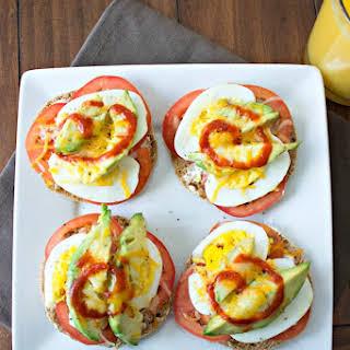 Hard Boiled Egg Breakfast Melt.
