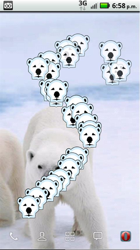 Save the Arctic!! LWP FREE- screenshot