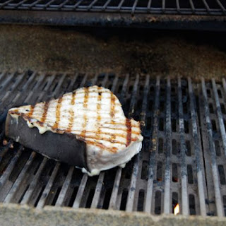 Simple Grilled Swordfish Steak.