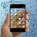 Transparent Screen Launcher mobile app icon