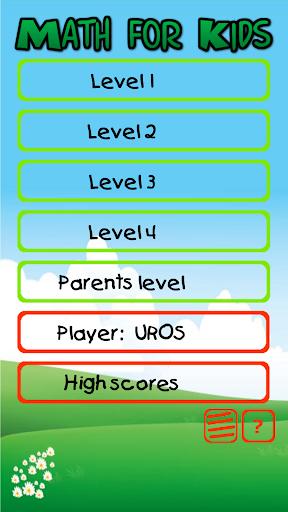 Matematika za otroke