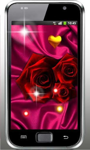 Rose Red Love Live Wallpaper