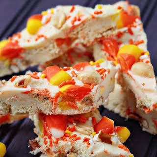 Candy Corn Bark.