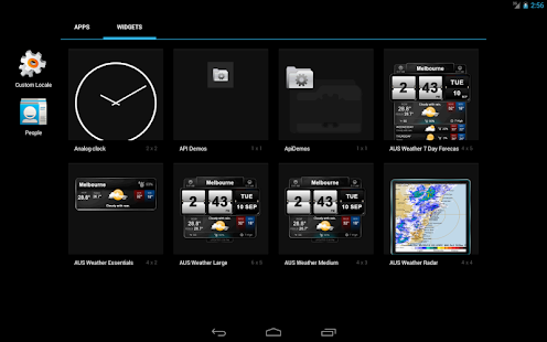 Australian Weather and Widgets- screenshot thumbnail