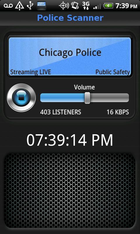 Police Scanner 5-0 Screenshot 2